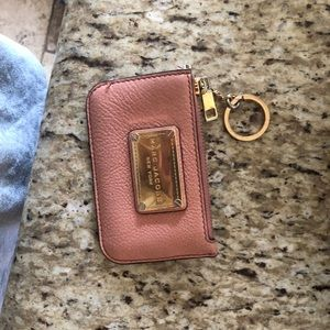 Marc jacobs wallet/cardholder w/keychain
